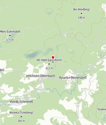 Karte / Marienfelsen (Mariina skála)