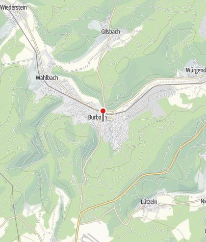 Karte / Touristinformation Burbach