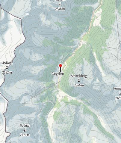Karte / Gasthof - Pension Wulfenia
