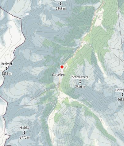 Karte / Alpenhaus Montafon