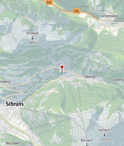 Karte / Ferienwohnung Schwarzhans