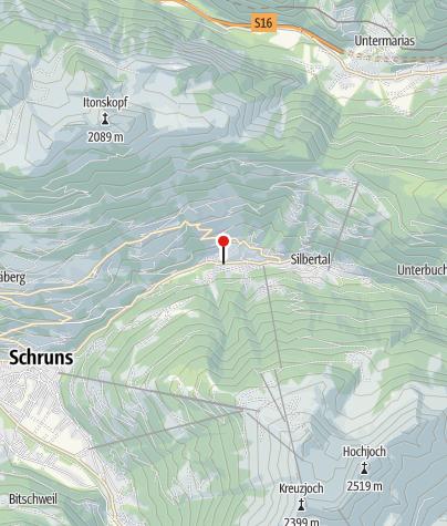 Karte / Ferienhaus Mühlstein