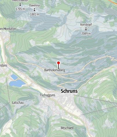 Karte / Ferienhaus am Waldrand