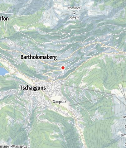 Karte / Ferienhaus Grappa