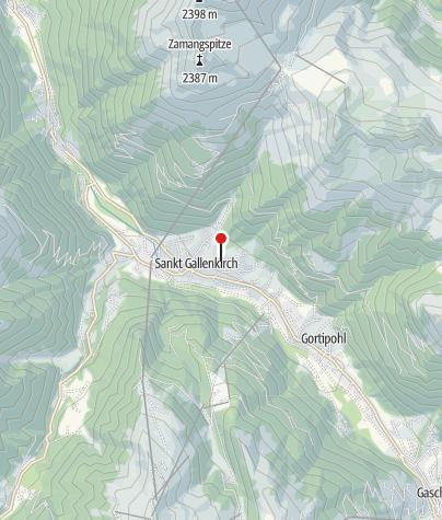 Karte / Haus Simone - Tschofen Waltraud