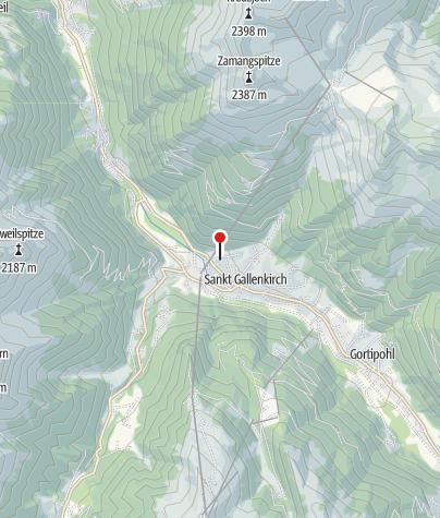 Karte / Ferienwohnung Fiel