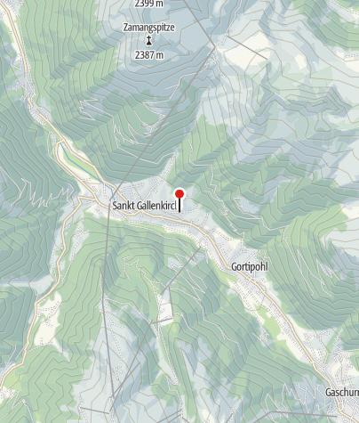 Karte / Apartment Rotbühlspitze