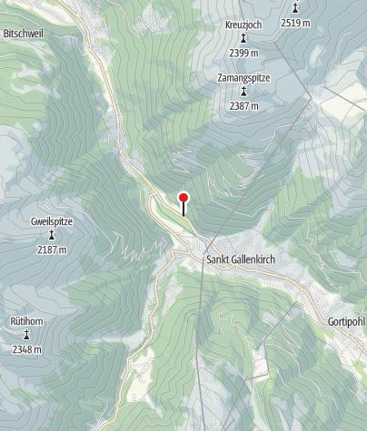 Karte / Ferienwohnung Waldhaus
