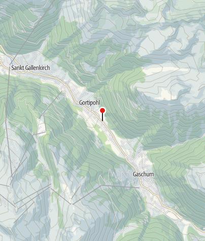 Karte / Gasthaus Muntafuner Stöbli