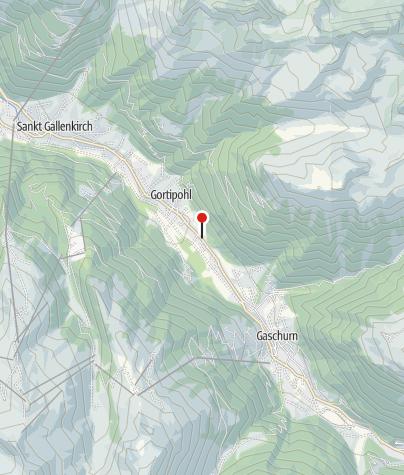 Karte / Willi Egon u. Inge - Ferienwohnungen Montafon