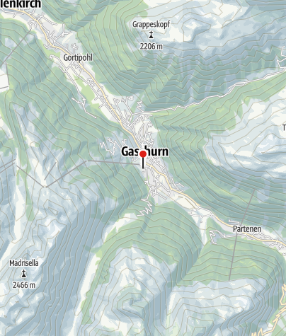 Karte / Selbstversorgerhaus Pfefferkorn