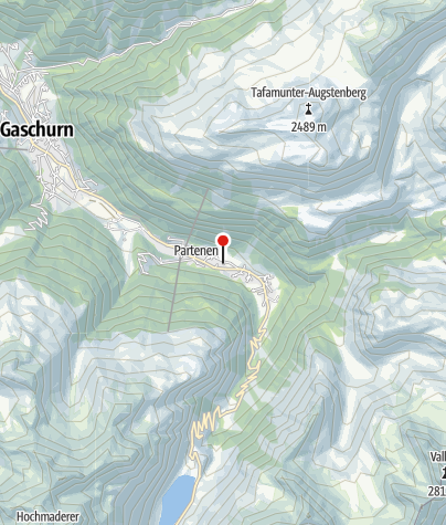 Karte / Wohlfühlhotel Garni Tiroler Hof