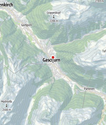 Karte / Felbermayer Hotel & Alpin Spa Montafon****