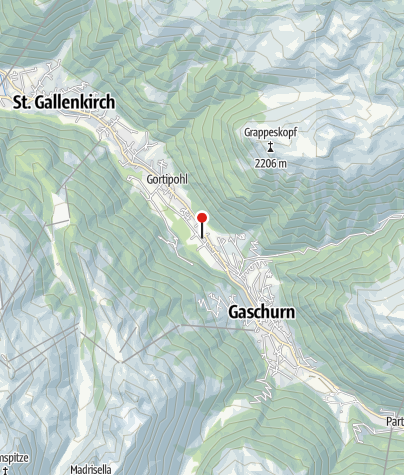 Karte / Landhaus Ossi