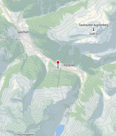 Karte / Ferienhaus Bergfrieden