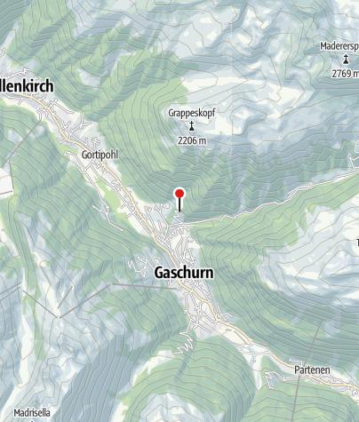 Karte / Ferienhaus Hammer