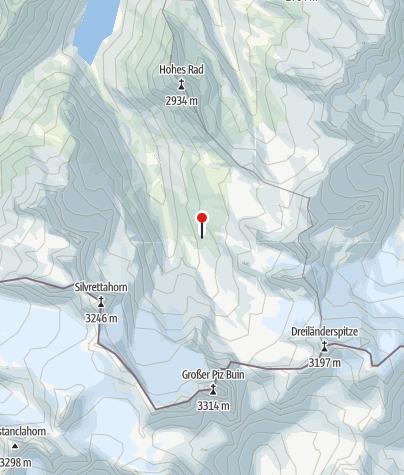 Karte / Wiesbadner Hütte