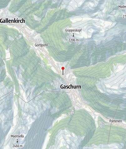 Karte / First Mountain Montafon