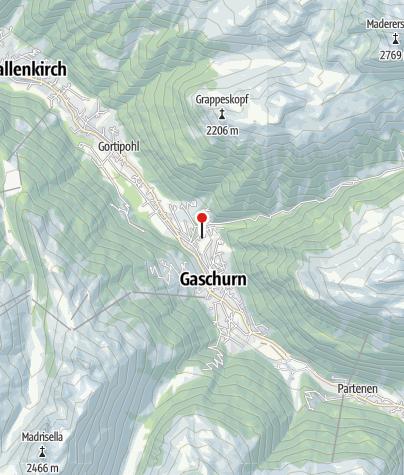 Karte / Ferienhaus Gostanova
