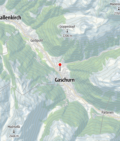 Karte / Ferienhaus Büsch