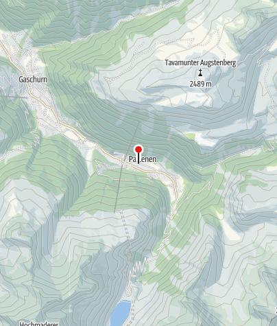 Karte / Berghotel Sonne