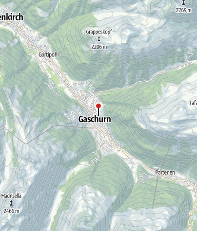 Karte / Aparthotel Tschanun Garni