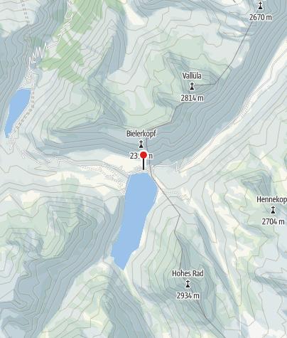 Karte / Berggasthof Piz Buin