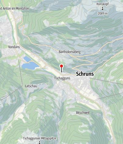 Karte / Appartement Gauenstein