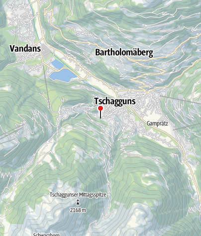 Karte / Haus Plamont