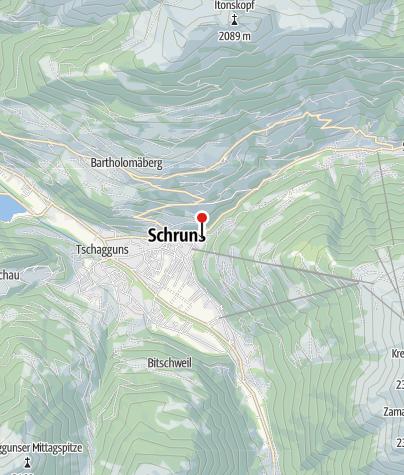 Karte / Ferienwohnungen Welsch