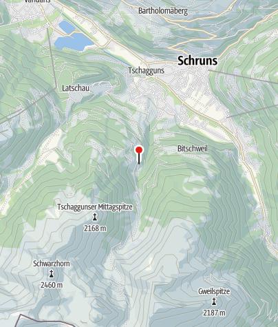 Karte / Schmugglerhütte