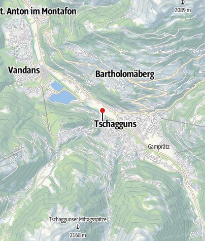 Karte / Appart-Haus Vonbank