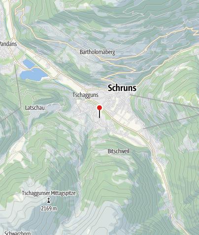 Karte / Haus Margret Schuchter