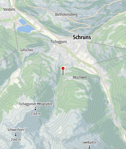 Karte / Hütte Maier