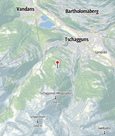 Karte / Berggasthof Grabs