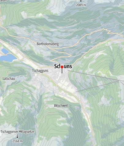 Karte / Haus Gavadura-Wirth