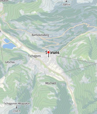 Karte / Ferienwohnung Kronenwiese