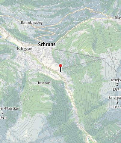Karte / Appartementhaus Zimbablick