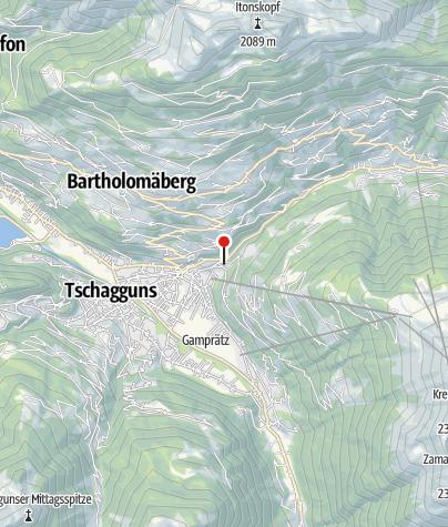 Karte / Panorama Chalet Christl