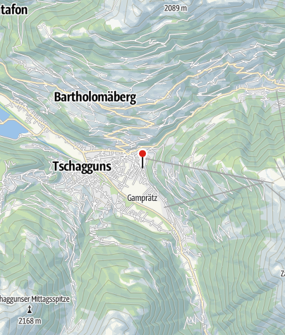 Karte / Ferienwohnung Büsch