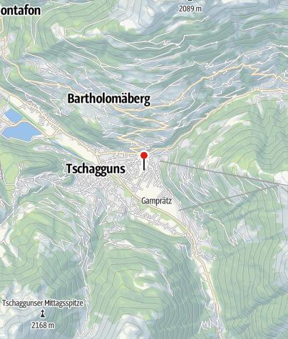 Karte / Gasthof Hochjochstöbli