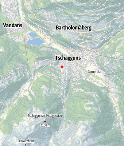 Karte / Pension Schwarzhorn, Ferienwohnungen
