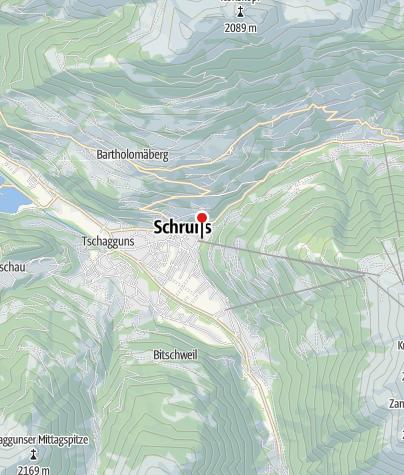 Karte / Gästehaus Urmonti