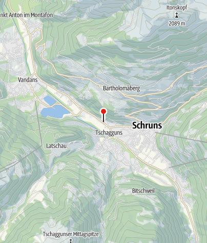 Karte / Ferienblockhäuser Zuderell