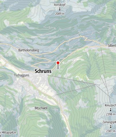 Karte / Haus Schnetzerhang