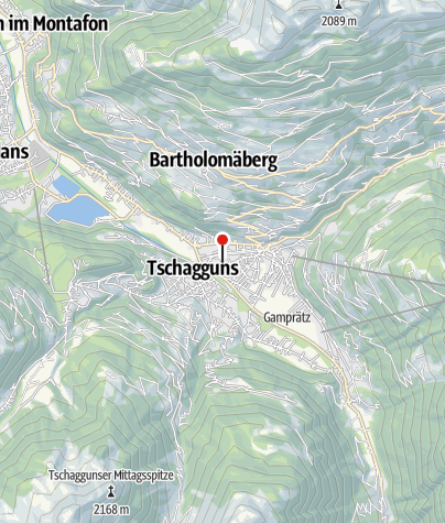 Karte / Tschofen Herbert