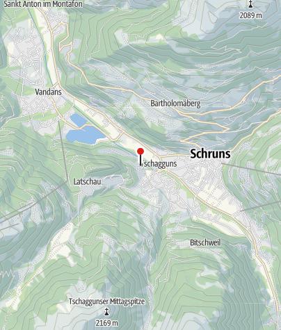 Karte / Haus Bitschnau-Salzgeber