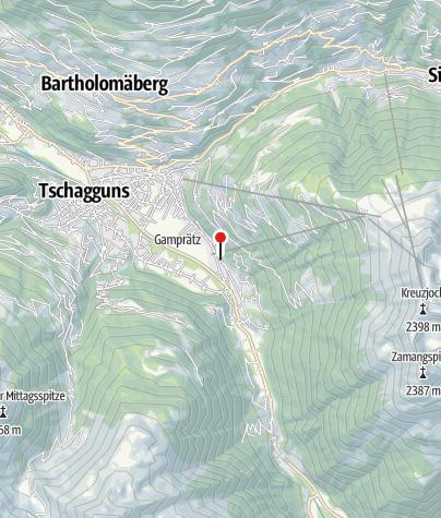 Karte / Ferienwohnung Flöry
