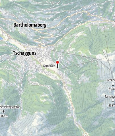 Karte / Haus Schnetzer