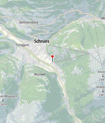 Karte / Ferienhaus Schwarzhans